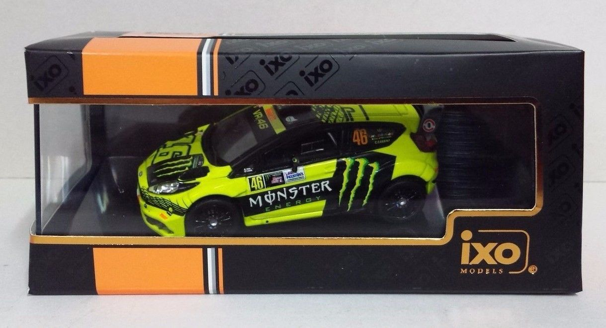 IXO VALENTINO ROSSI 46 FORD FIESTA RS WRC MONZA RALLY SHOW 2015 NEW - RAM620
