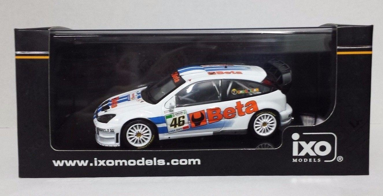 IXO VALENTINO ROSSI FORD FOCUS WRC BETA RALLY MONZA 2007 L.E.NEW - RAM369