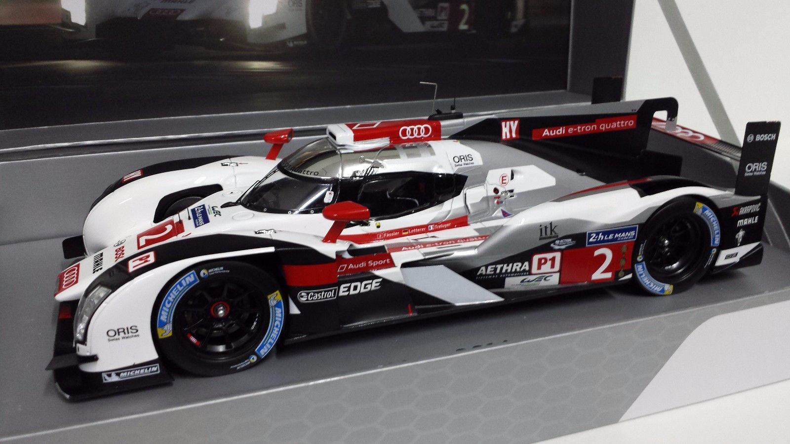 Cars SPARK AUDI R ETRON QUATTRO WINNER H LEMANS - Audi collection