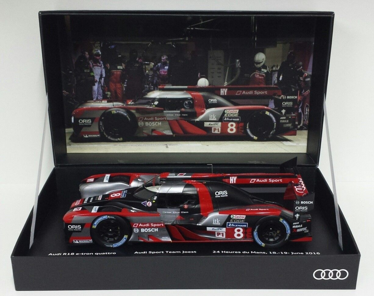 Cars SPARK AUDI R ETRON QUATTRO RD H LE MANS - Audi collection