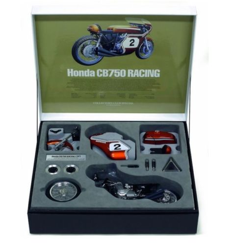 TAMIYA 1/6 HONDA CB750 RACING DICK MANN WINNER DAYTONA 1970 # 2 COLLECTORS CLUB