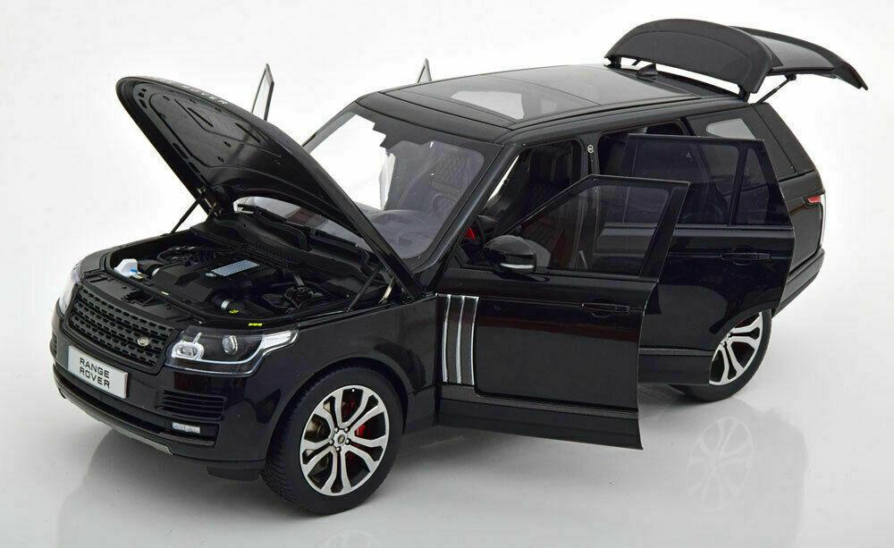 LCD MODELS 1/18 MODELLINO AUTO IN METALLO DIECAST SUV RANGE ROVER SV AUTOBIOGRAPHY 2017 NERO
