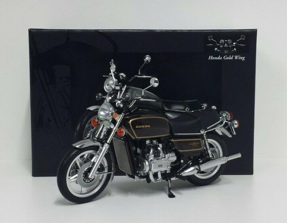 MINICHAMPS 1/12 MODELLINO MOTO HONDA GOLDWING GL 1000 K3 1978 MARRONE DIE CAST