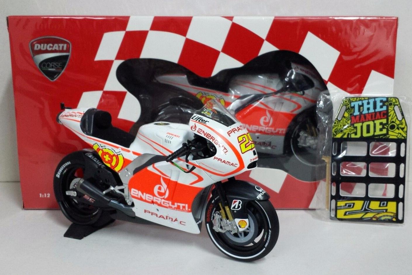 1:12 Pit board pitboards Valentino Rossi Daniel Pedrosa to minichamps RARE NEW