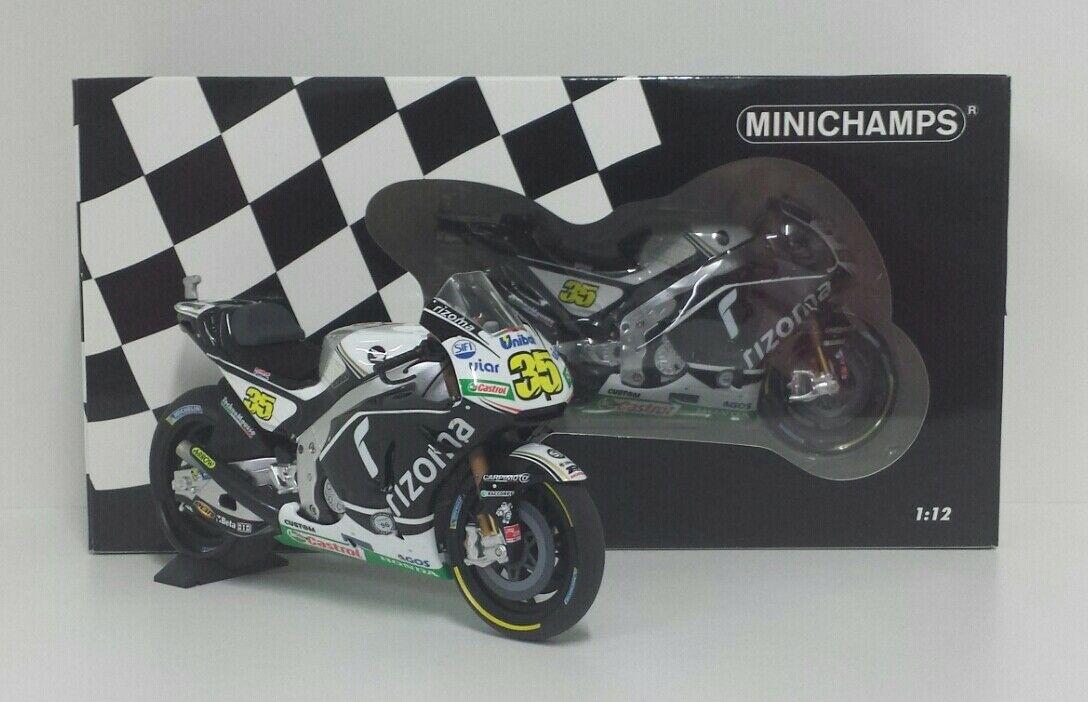 MINICHAMPS CAL CRUTCHLOW 1/12 MODELLINO HONDA RC213V GP SILVERSTONE 2016 MOTOGP