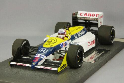 MINICHAMPS NIGEL MANSELL 1/18 WILLIAMS HONDA FW11B WINNER BRITISH GP 1987 NEW
