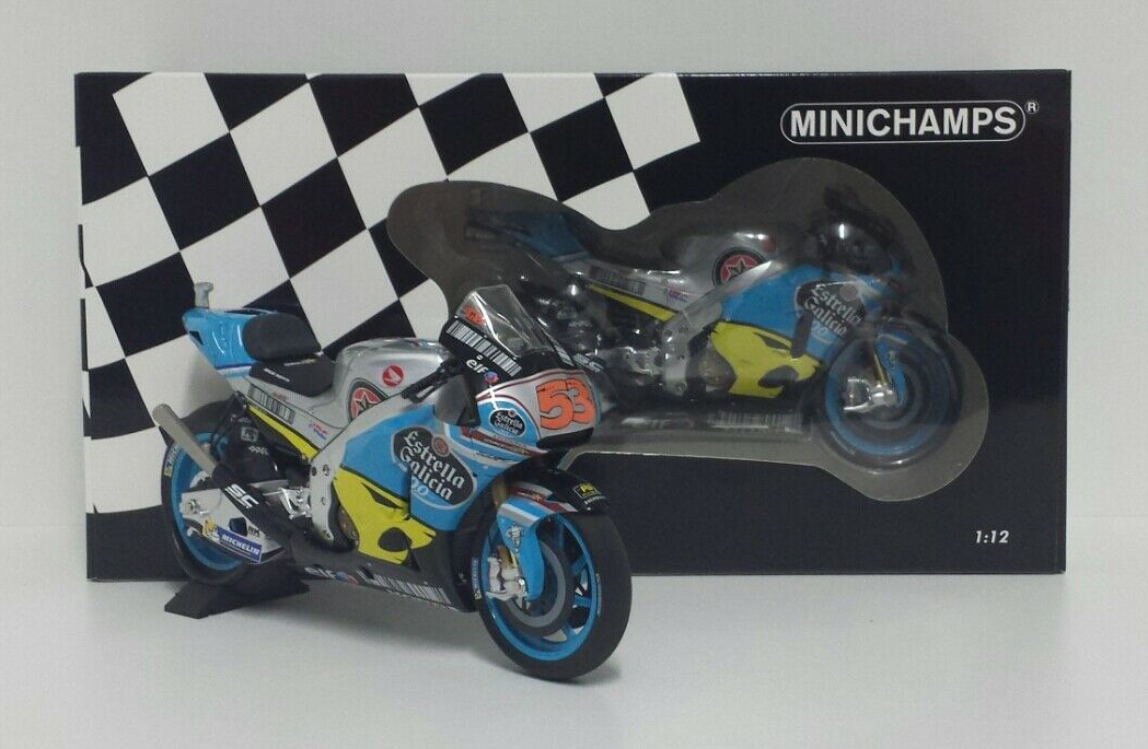 MINICHAMPS TITO RABAT 1/12 #53 MODELLO HONDA RC213V TEAM EG MARC VDS MOTOGP 2017