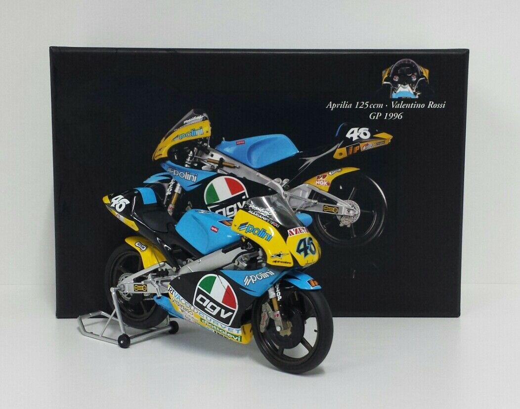 1:8 AGV Minichamps Valentino Rossi Helmet Casco Moto GP 1997 NEW