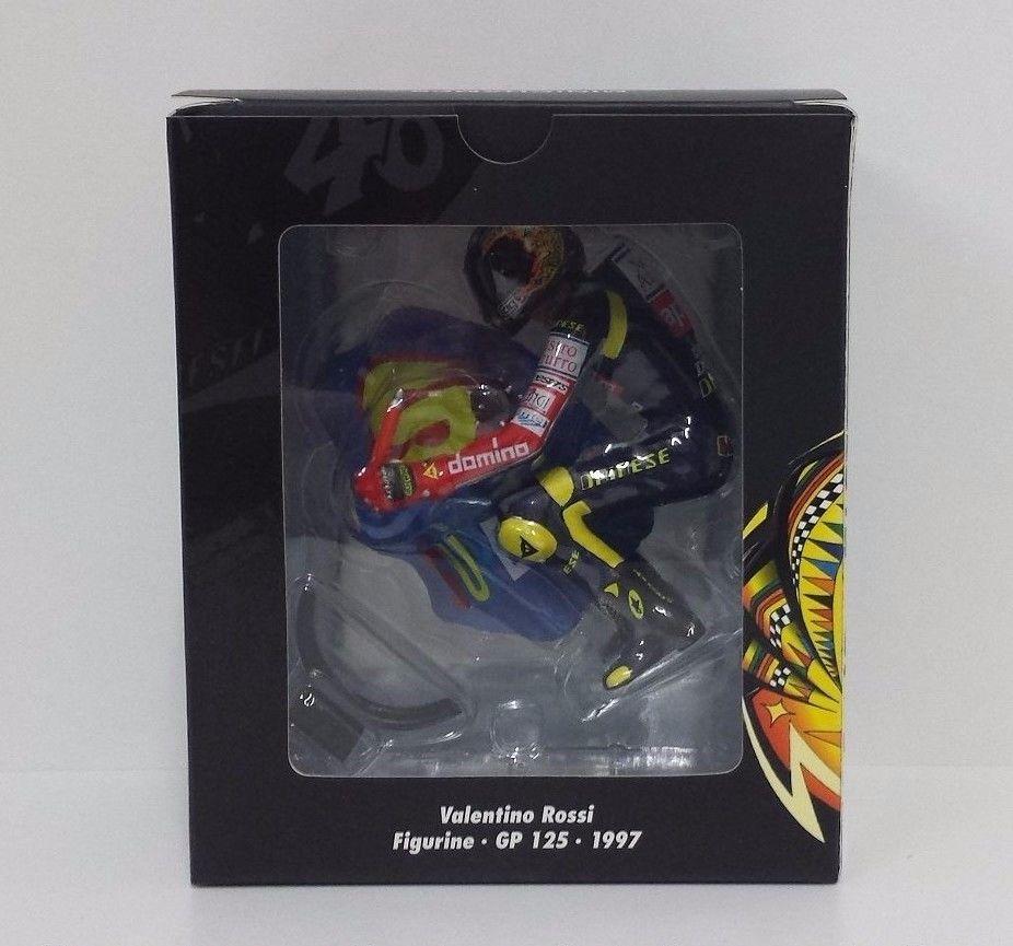 MINICHAMPS VALENTINO ROSSI 1/12 MODELLINO FIGURA APRILIA 125cc 1997 SUPERMAN NEW