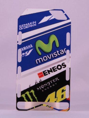 MINICHAMPS V.ROSSI PITBOARDS TEAM YAMAHA MOVISTAR MOTO GP 2015 SCALA 1/12 NEW
