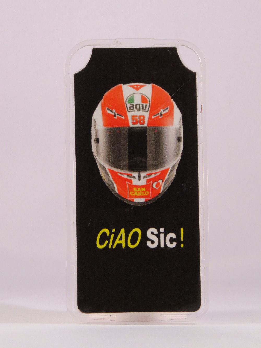 "MINICHAMPS MARCO SIMONCELLI MODELL PITBOARDS MOTOGP SKALA 1//12 /""CIAO SIC/"" NEW"