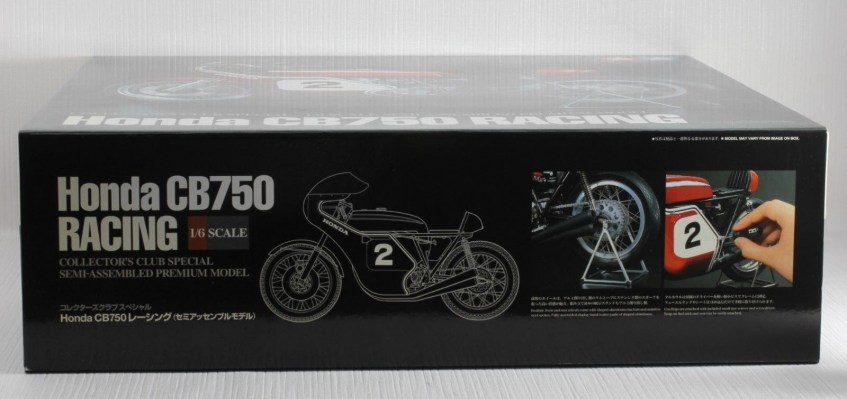 TAMIYA 1-6 HONDA CB750 RACING DICK MANN WINNER DAYTONA 1970 COLLECTORS CLUB  10