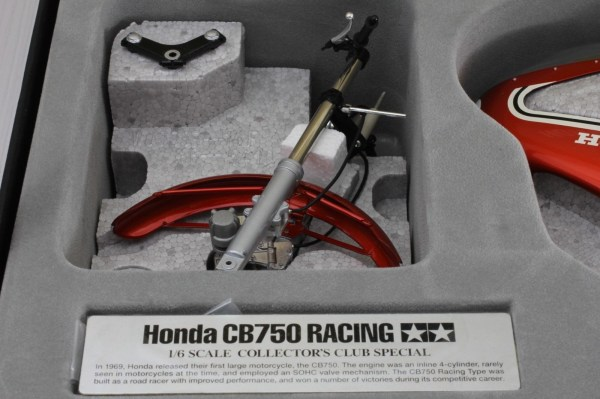 TAMIYA 1-6 HONDA CB750 RACING DICK MANN WINNER DAYTONA 1970 COLLECTORS CLUB  4