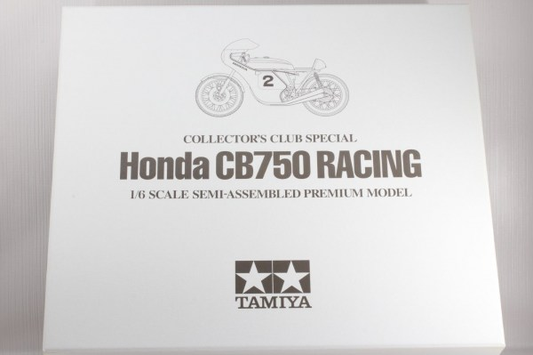 TAMIYA 1-6 HONDA CB750 RACING DICK MANN WINNER DAYTONA 1970 COLLECTORS CLUB  8