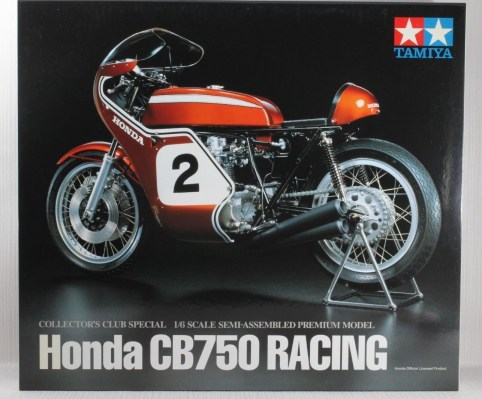 TAMIYA 1-6 HONDA CB750 RACING DICK MANN WINNER DAYTONA 1970 COLLECTORS CLUB  9