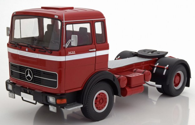 camion-scala-1-18-mercedes-lps-1632-red-black-white-1969-road-kings-new
