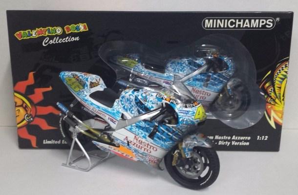 Rossi 1//12 Valentino Rossi Collection Minichamps 122016946 Honda Nsr 500 Preseason 2001 V
