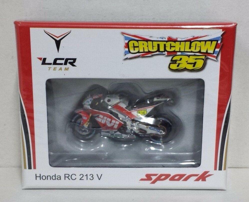 SPARK 1/43 CAL CRUTCHLOW HONDA RC 213V TEAM LCR WINNER GP BRNO 2016 L.E. NEW