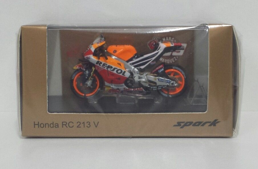 SPARK 1/43 MARC MARQUEZ MODELLO HONDA RC213V MOTOGP WORLD CHAMPION JAPAN GP 2016
