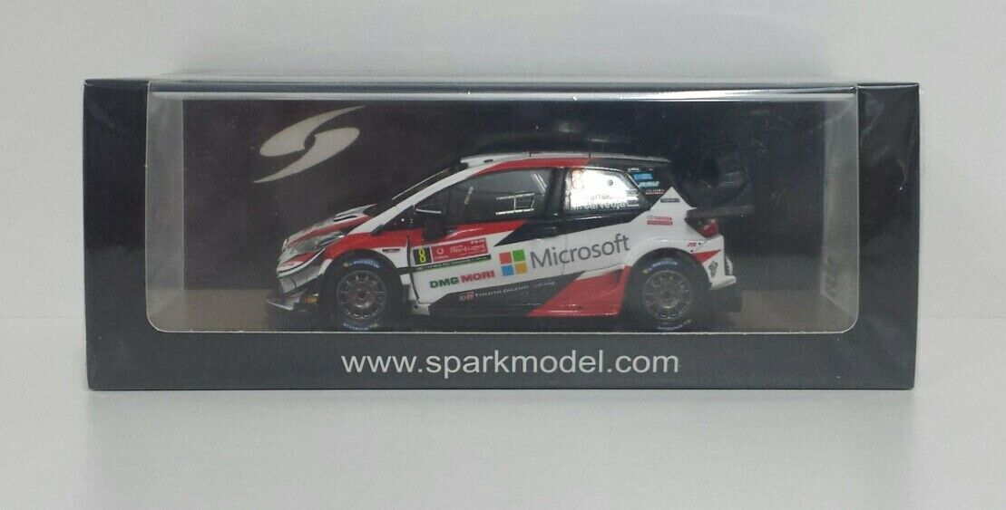 SPARK 1/43 MODELLINO AUTO RALLY TOYOTA YARIS WRC PORTOGALLO 2019 TANAK DIECAST
