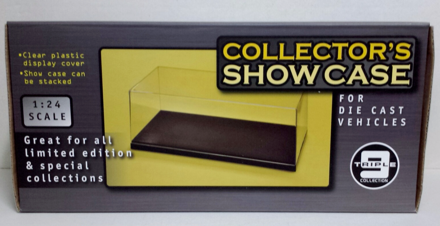 SHOWCASE IN PLEXIGLASS 1/24 FOR CAR IN SCALE 1/24 NEW